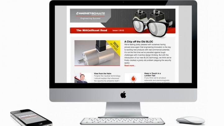 Magnet Schultz website design