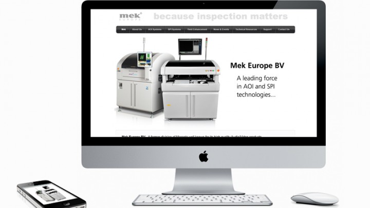 Mek website design and build