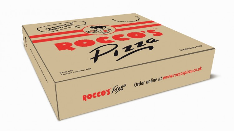 Roccos packaging design