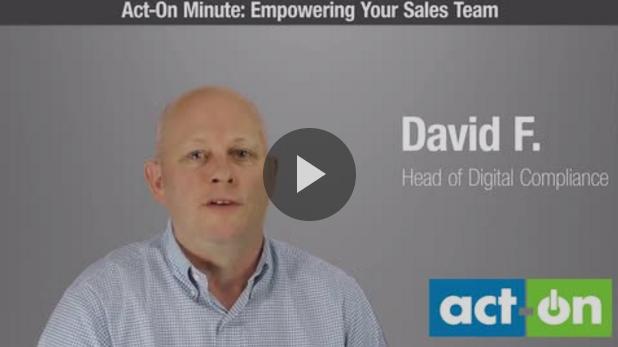 Sales team empowerment