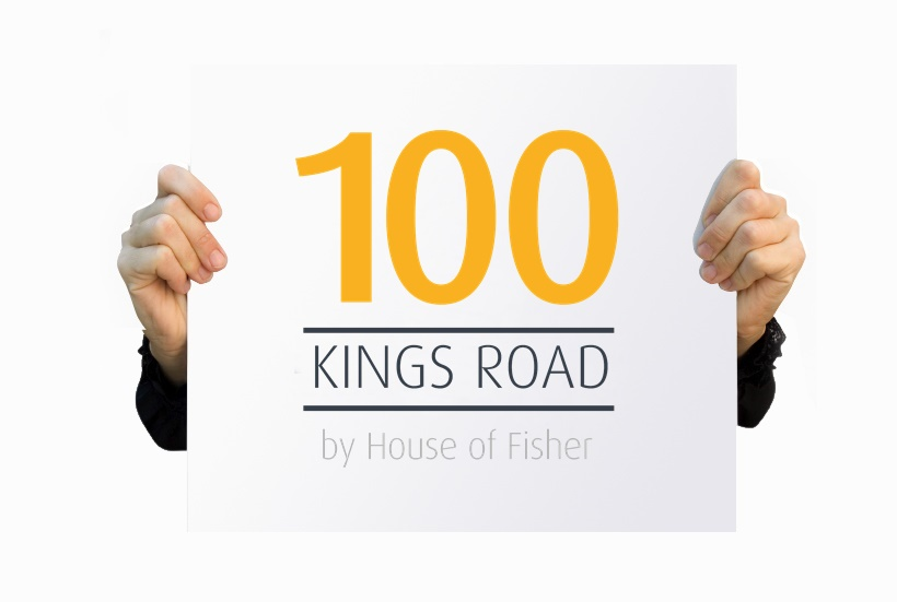 Logo design - House of Fisher 100 Kings Road