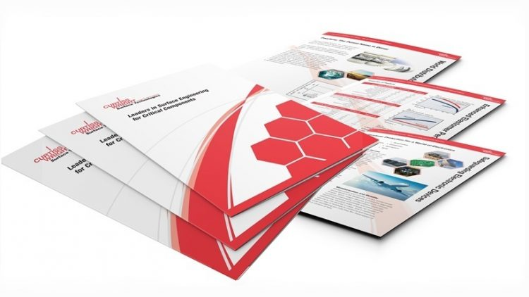 Brochure design - Curtis-Wright brochure & inserts