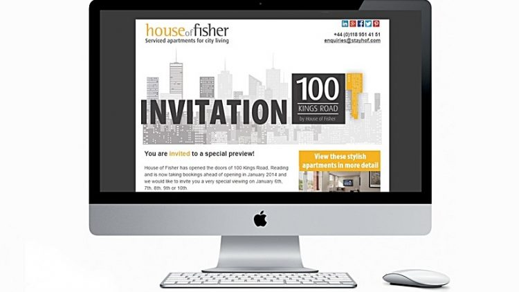 Email Marketing. Electronic invitation