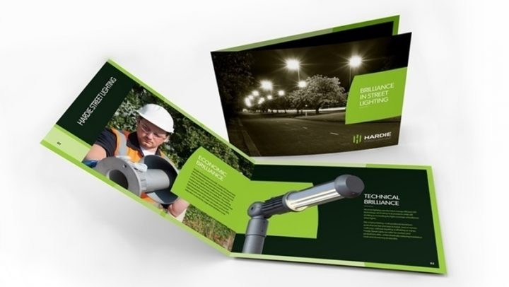 Hardie Lighting-Brochure Design