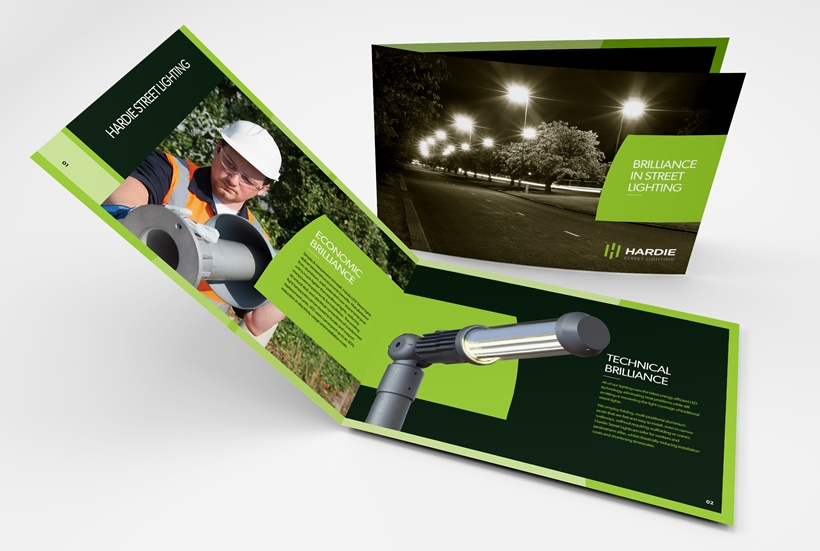 Brochure Design - Hardie Lighting