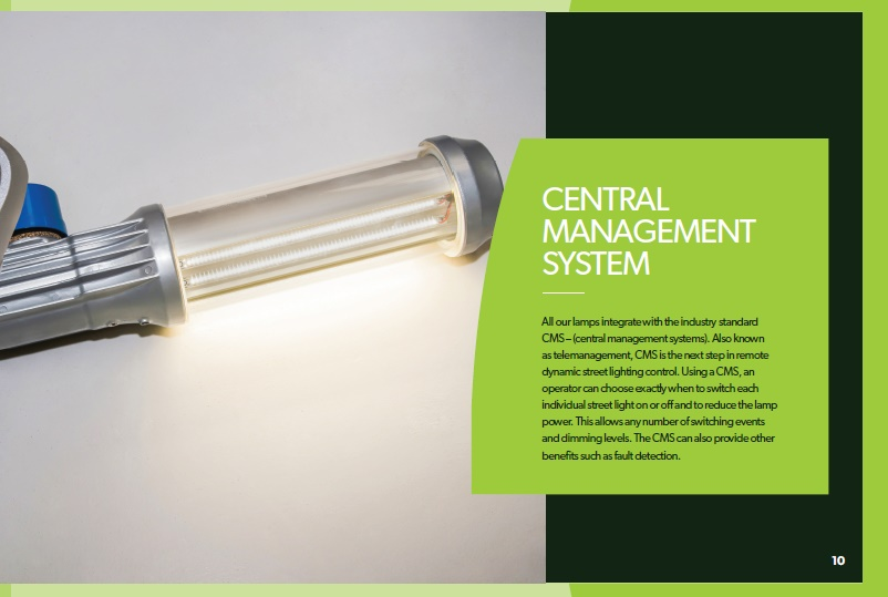 Brochure design - Hardie Street Lighting brochure - pg 10